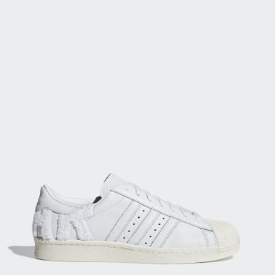 Men Originals White Superstar 80s Shoes
