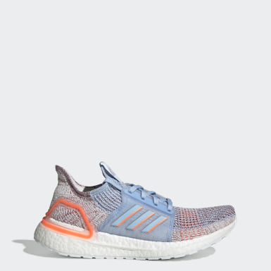 Women Running Blue Ultraboost 19 Shoes
