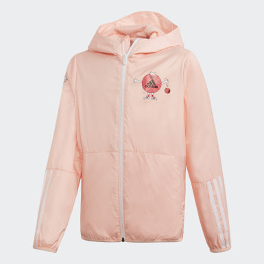 เด็กผู้หญิง ไลฟ์สไตล์ สีชมพู เสื้อแจ็คเก็ต Cleofus