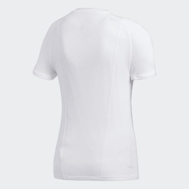 Youth Training White Alphaskin Base Layer Tee