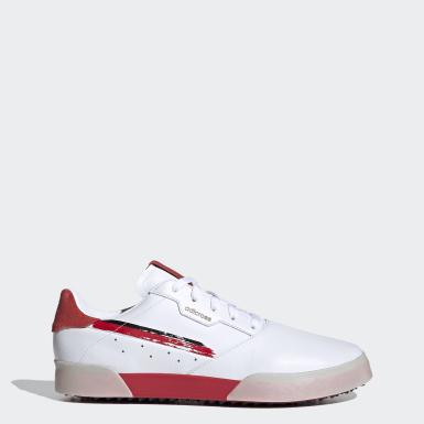 Sapatos Golf Retro Adicross Branco Homem Golfe