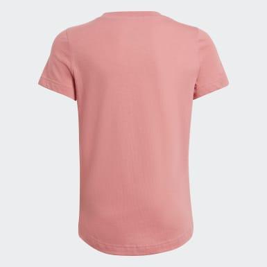 T-shirt Tropical Sports Graphic Rosa Ragazza Training