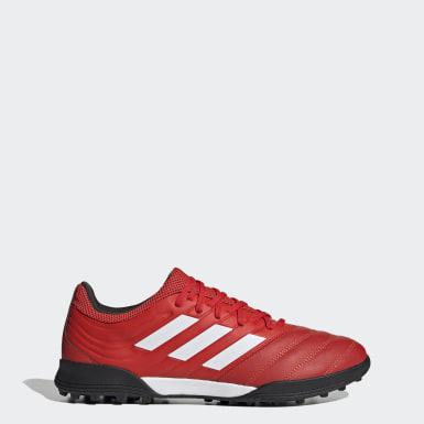 Kvinder Fodbold Rød Copa 20.3 Turf støvler