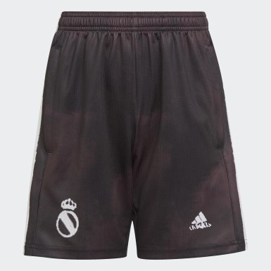 Kinderen Voetbal Zwart Real Madrid Human Race Short