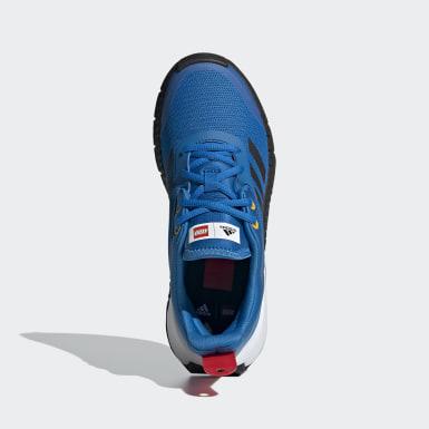 Kinder Running adidas x LEGO Sport Schuh Blau