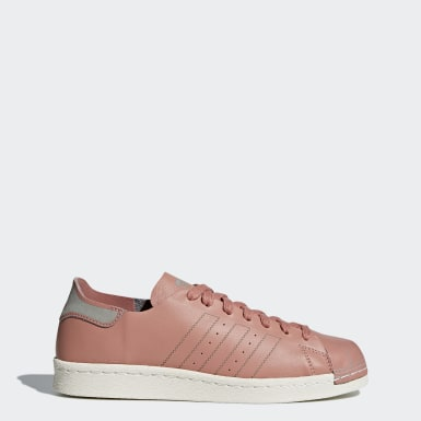 Tenis Superstar 80s Decon Rosa Mujer Originals