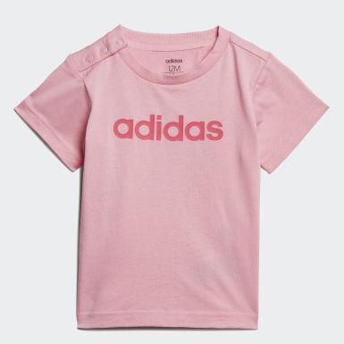 Děti Athletics růžová Tričko Linear