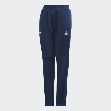 Youth 8-16 Years Training Blue Tiro Tracksuit Bottoms