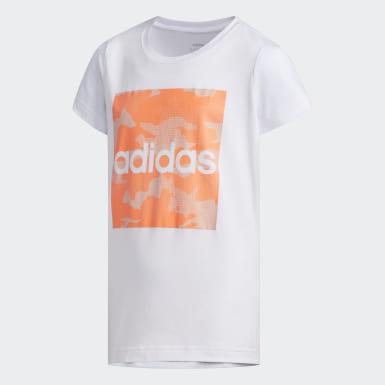 T-shirt Branco Criança Athletics