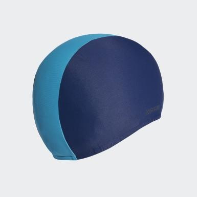 Kinder Schwimmen Badekappe Blau