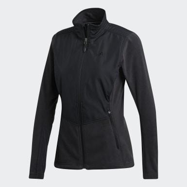 черный Куртка Windfleece