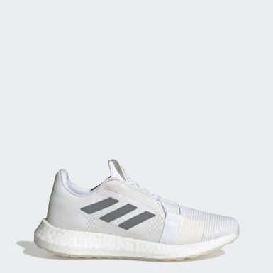 Women's Running White Senseboost GO Shoes