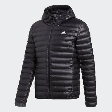 Mænd Urban Outdoor Sort Varilite Hooded dunjakke