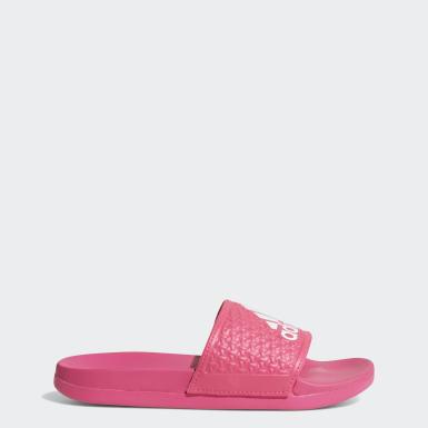 เด็ก ว่ายน้ำ สีชมพู รองเท้าแตะ adilette Cloudfoam Plus