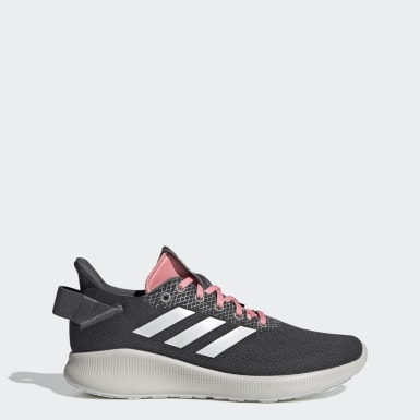 ผู้หญิง วิ่ง สีเทา รองเท้า Sensebounce + Street