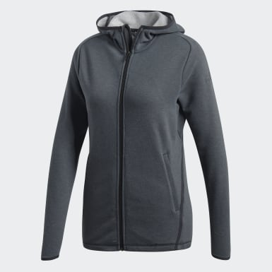 Veste à capuche FreeLift Light Gris Femmes Training