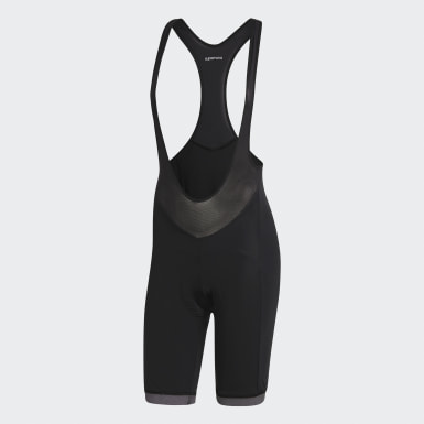 Women's Cycling Black Supernova Bib Shorts