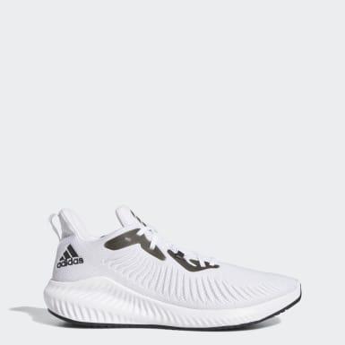 Männer Running Alphabounce+ Schuh Weiß