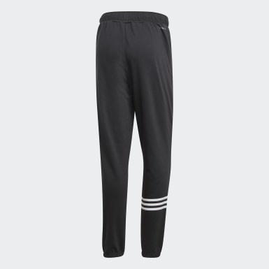 Pantalón Essentials Motion Pack Tapered Cuffed Negro Hombre Training