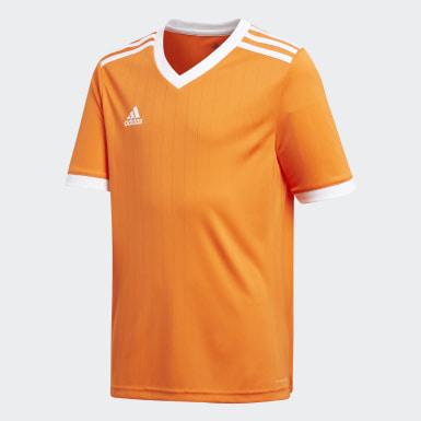 Maillot Tabela 18 orange Adolescents Soccer