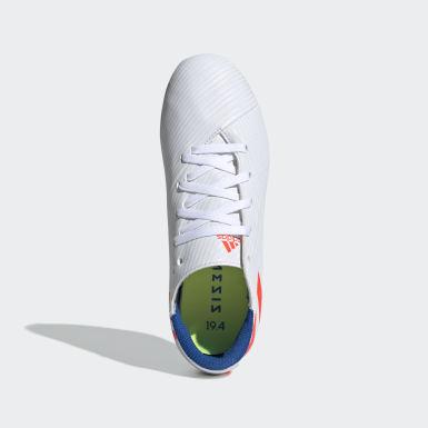 белый Футбольные бутсы NEMEZIZ MESSI 19.4 FxG J