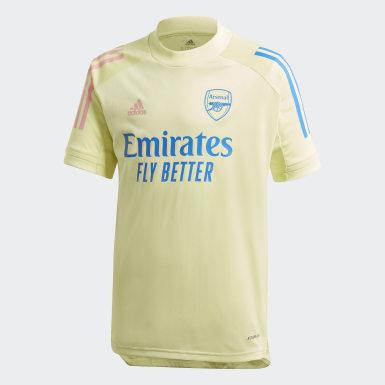 Camiseta entrenamiento Arsenal Amarillo Niño Fútbol