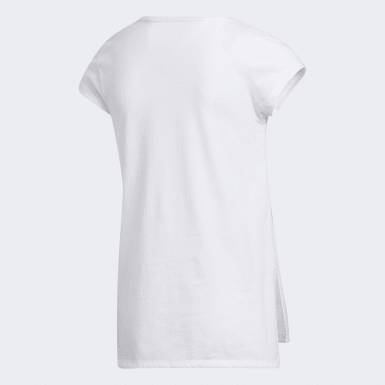 Youth Training White Side Vent Tee