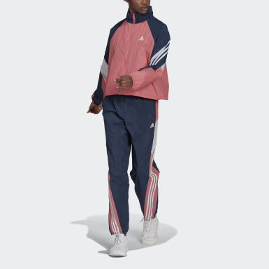 Dam Athletics Rosa adidas Sportswear Game-Time Woven Track Suit