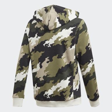 Jongens Training grijs Must Haves Badge of Sport Fleece Pullover