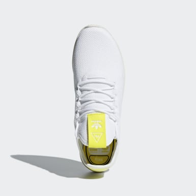 Scarpe Pharrell Williams Tennis Hu Bianco Originals