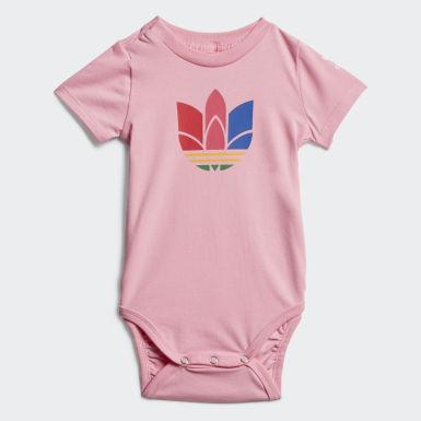 Kinderen Originals Roze Adicolor Romper