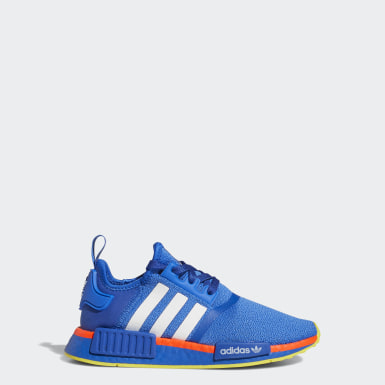 Chaussure NMD_R1 bleu Adolescents Originals