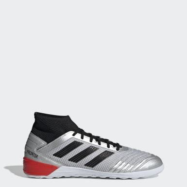 chaussure futsal adidas blanche et jaune