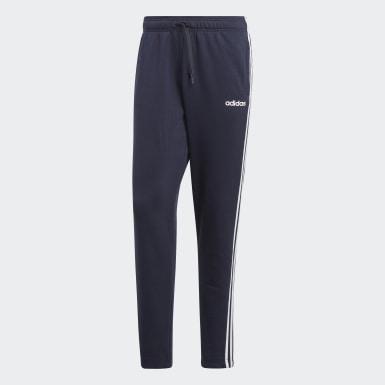 Männer Athletics Essentials 3-Streifen Hose Blau