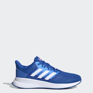 Zapatillas Runfalcon Azul Mujer Running