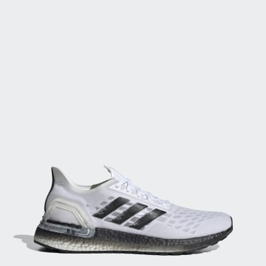 Sapatos Ultraboost PB Branco Homem Running