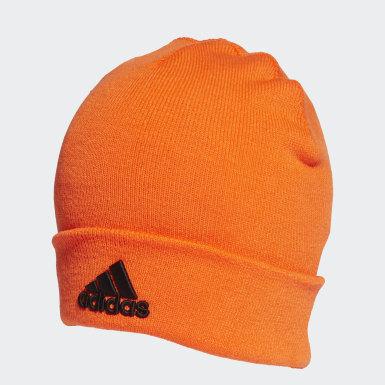 Berretto Logo Arancione Training