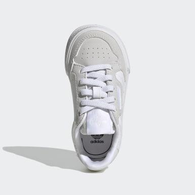 Kids Originals White Continental Vulc Shoes