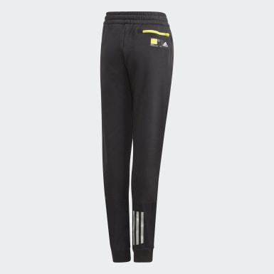 Youth Training Black Comfort Doubleknit Pants
