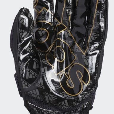 Men's Football Black Freak 4.0 Gloves