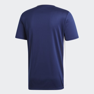 Maillot Entrada18 Bleu Hommes Training