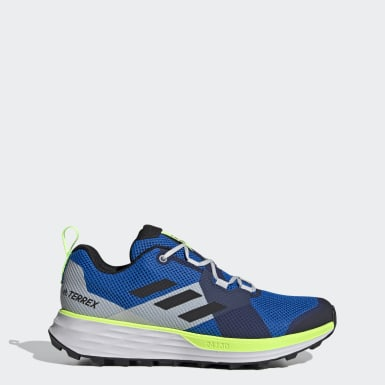 Men's Trail Running Blue Terrex Two Trail Running Shoes