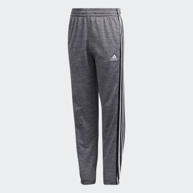 Youth Training Grey Micro Fleece Jogger Pants