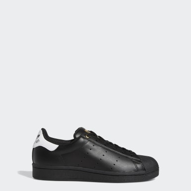 Chaussure Superstar Stan Smith noir Adolescents Originals