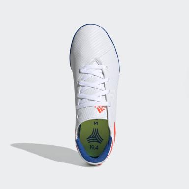 Zapatos de Fútbol Nemeziz Messi 19.4 Césped Artificial Blanco Niño Fútbol