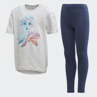 Ensemble Frozen Summer Gris Enfants Training