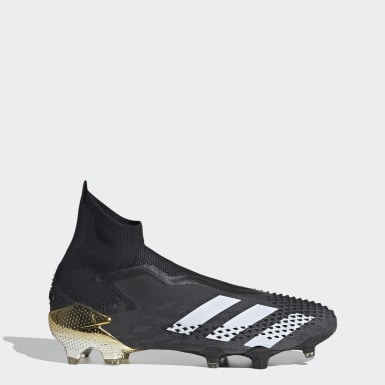 Football Black Predator Mutator 20+ Firm Ground Boots