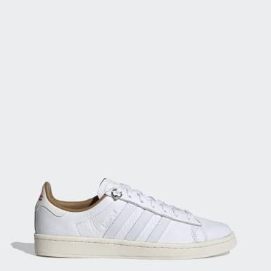 Men Originals White 032C Campus Shoes