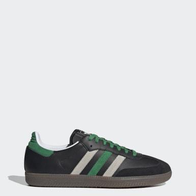 Originals สีดำ รองเท้า Samba