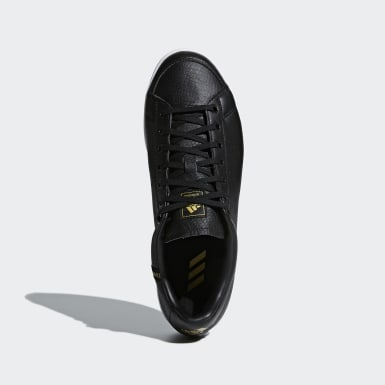 Men Golf Black Adicross Classic Wide Shoes